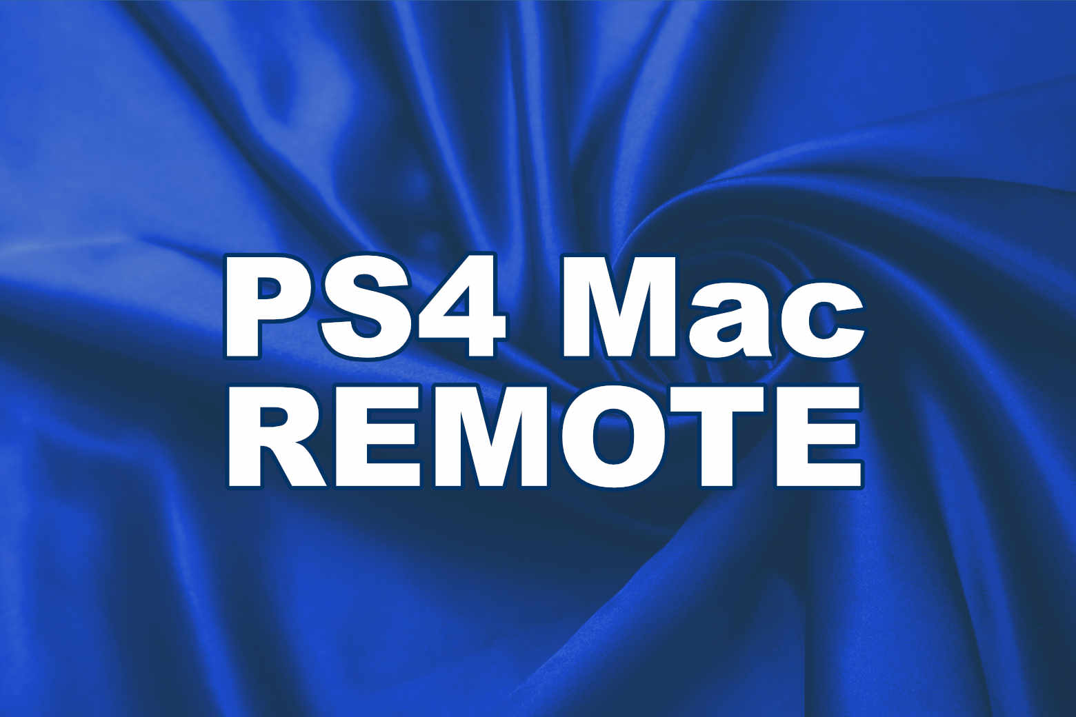 PlayStation4 Proのリモートプレイは最高1080pの解像度【PS4/Mac/レビュー】
