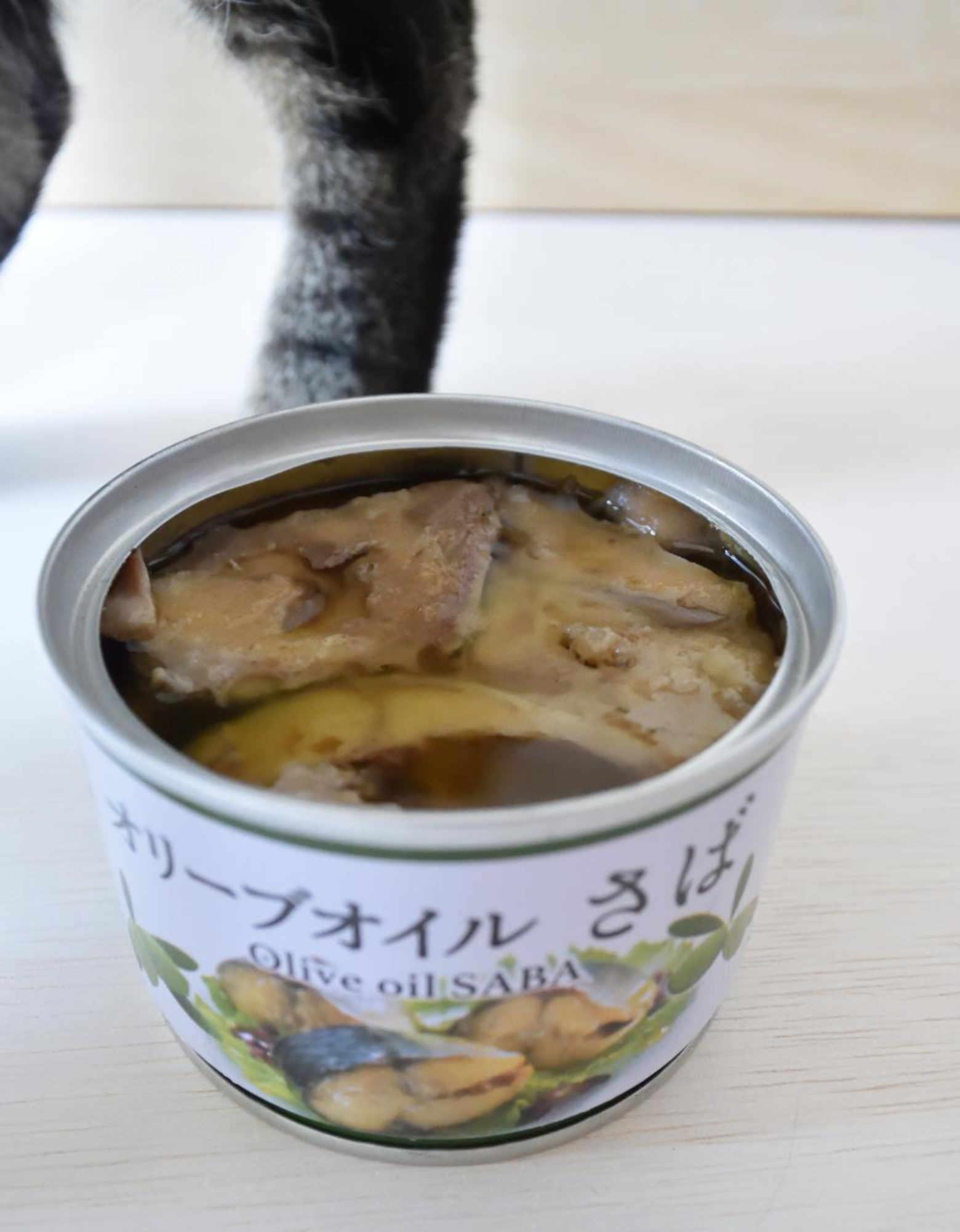 セブンイレブン オリーブオイルさばの缶詰