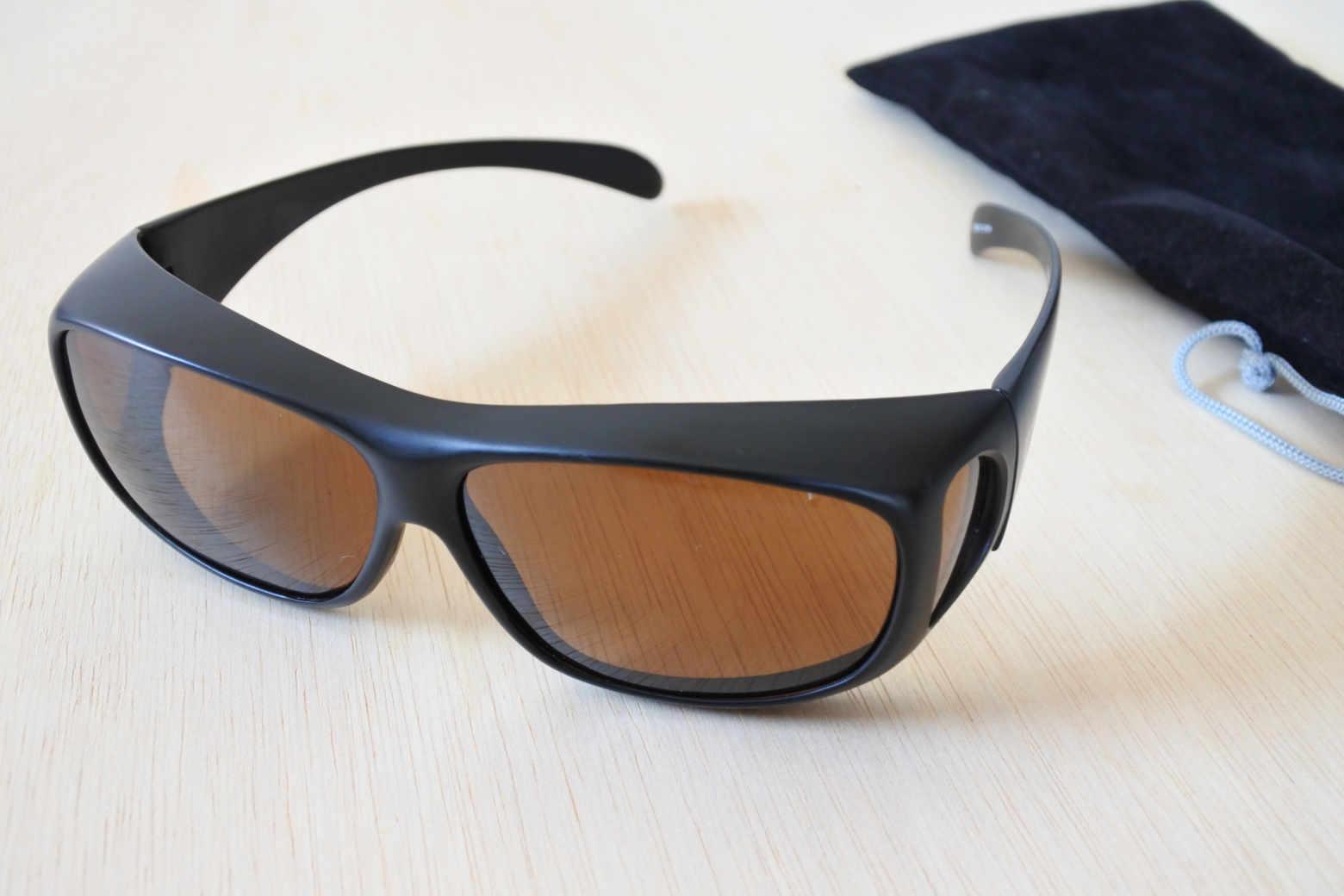 富士登山に必須! メガネの上からかけられる偏光サングラス:コールマンのオーバーグラス【インプレ】