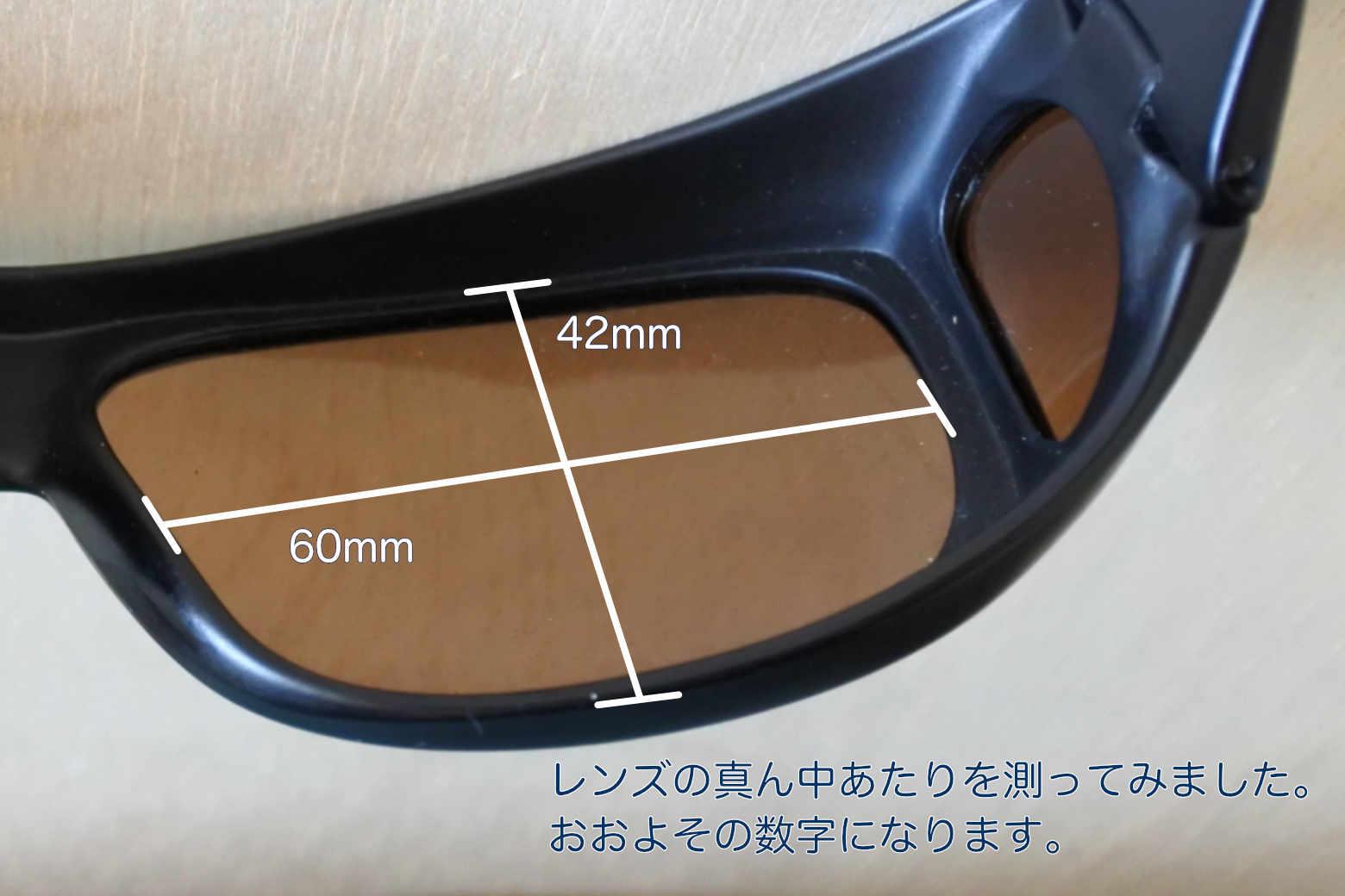 コールマンサングラス オーバーグラス CO3012-2