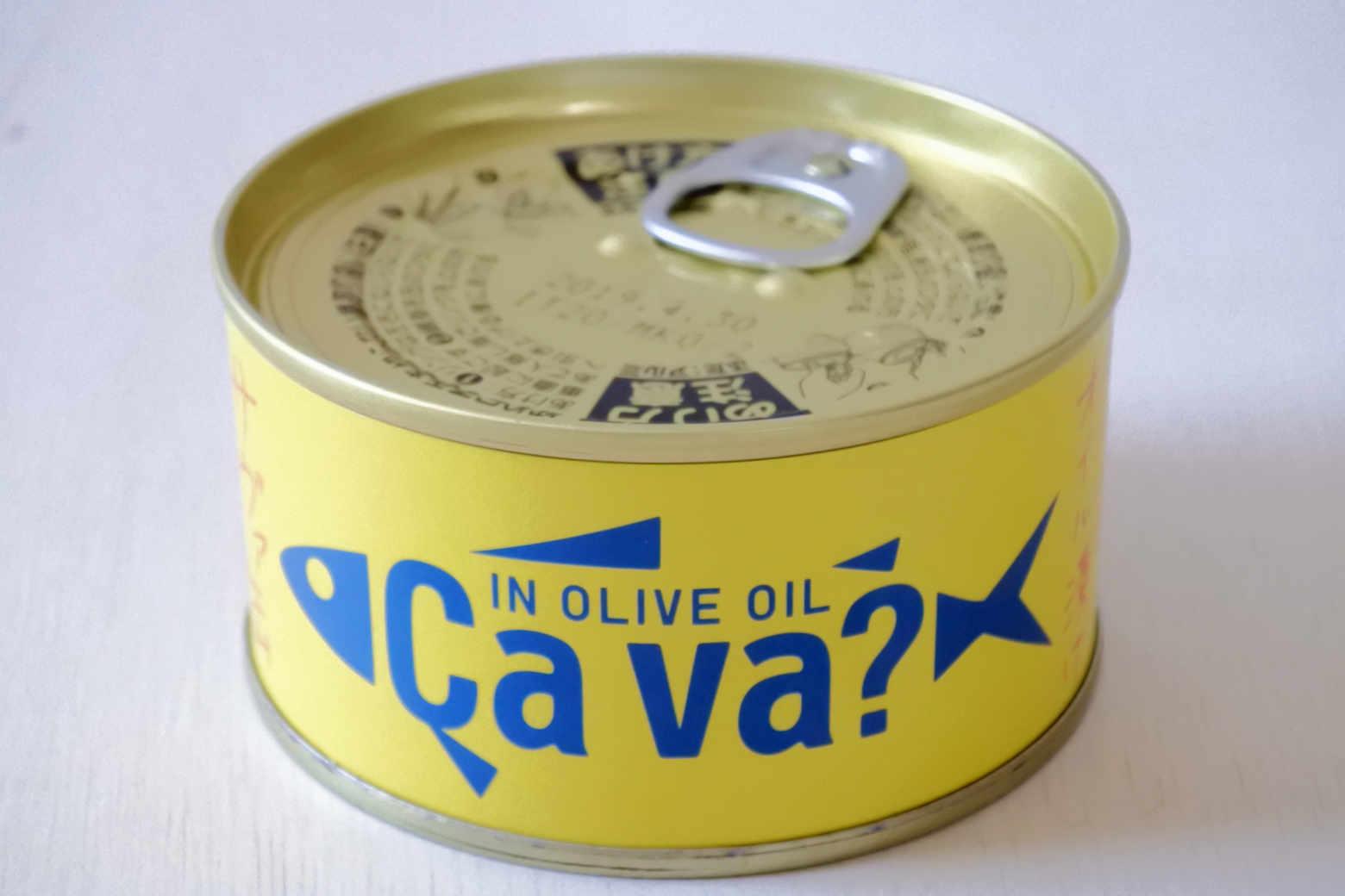 サバ缶?サヴァ缶?国産サバのオリーブオイル漬けで魚をがっつきました【缶詰】