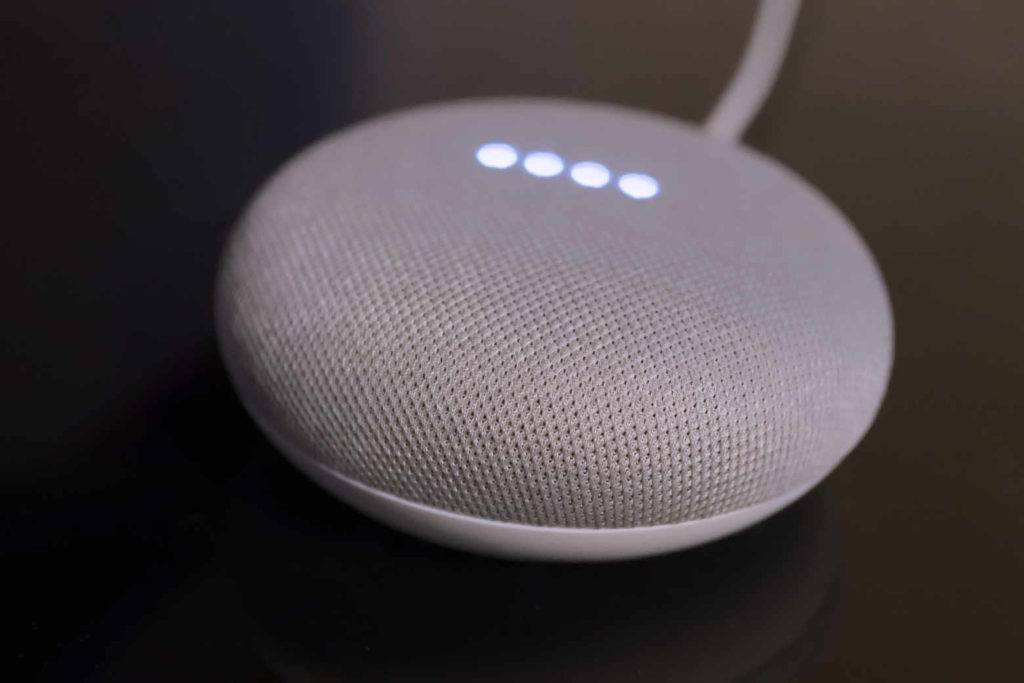 Google Home Mini でアラーム