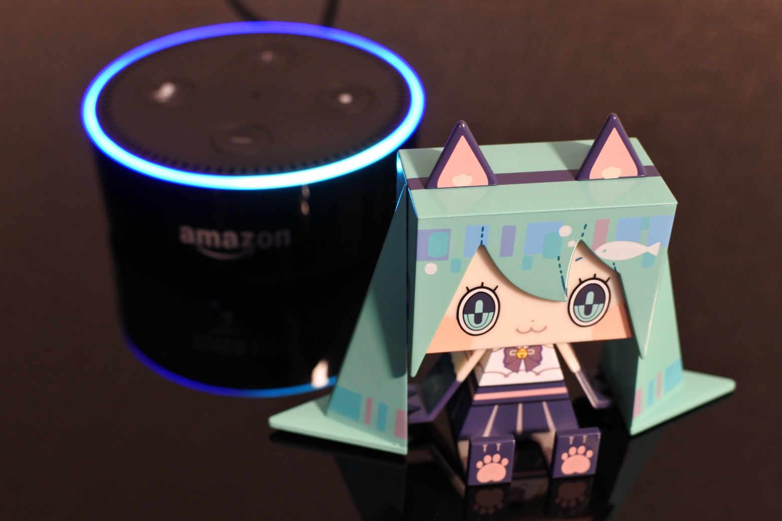 Hey MIKU!:初音ミクと会話ができるAmazon Echo Dotを購入しました【レビュー】