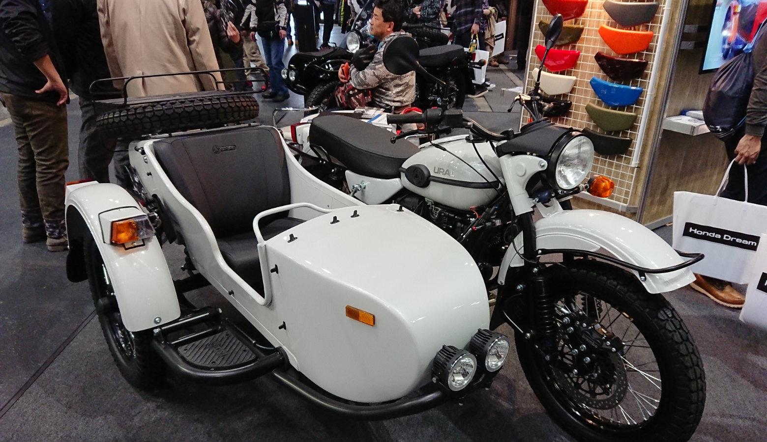 大阪モーターサイクルショー2018のサイドカー
