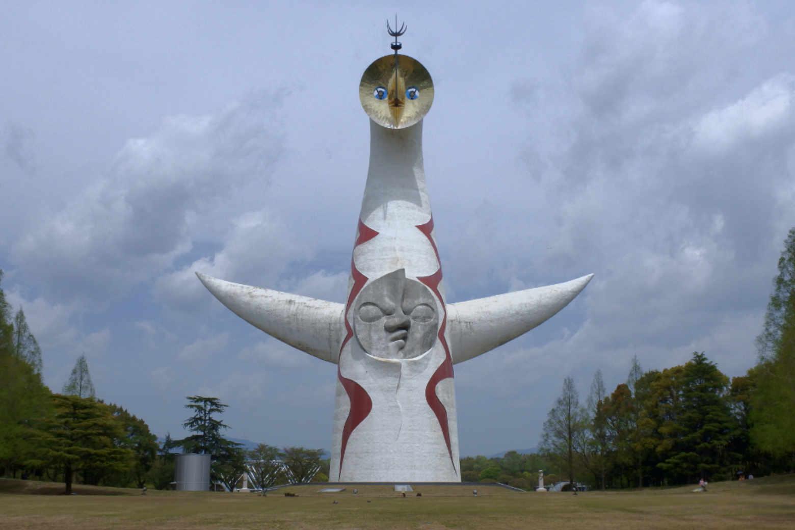 太陽の塔の正面