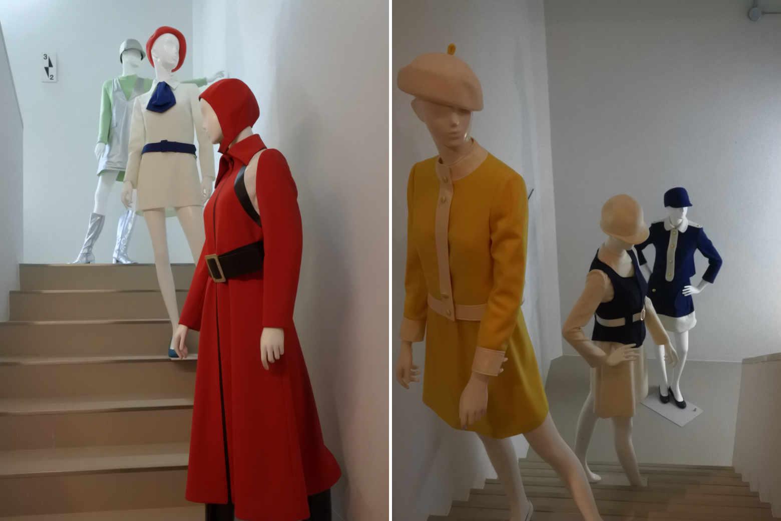 EXPO'70パビリオンの各パビリオンの制服