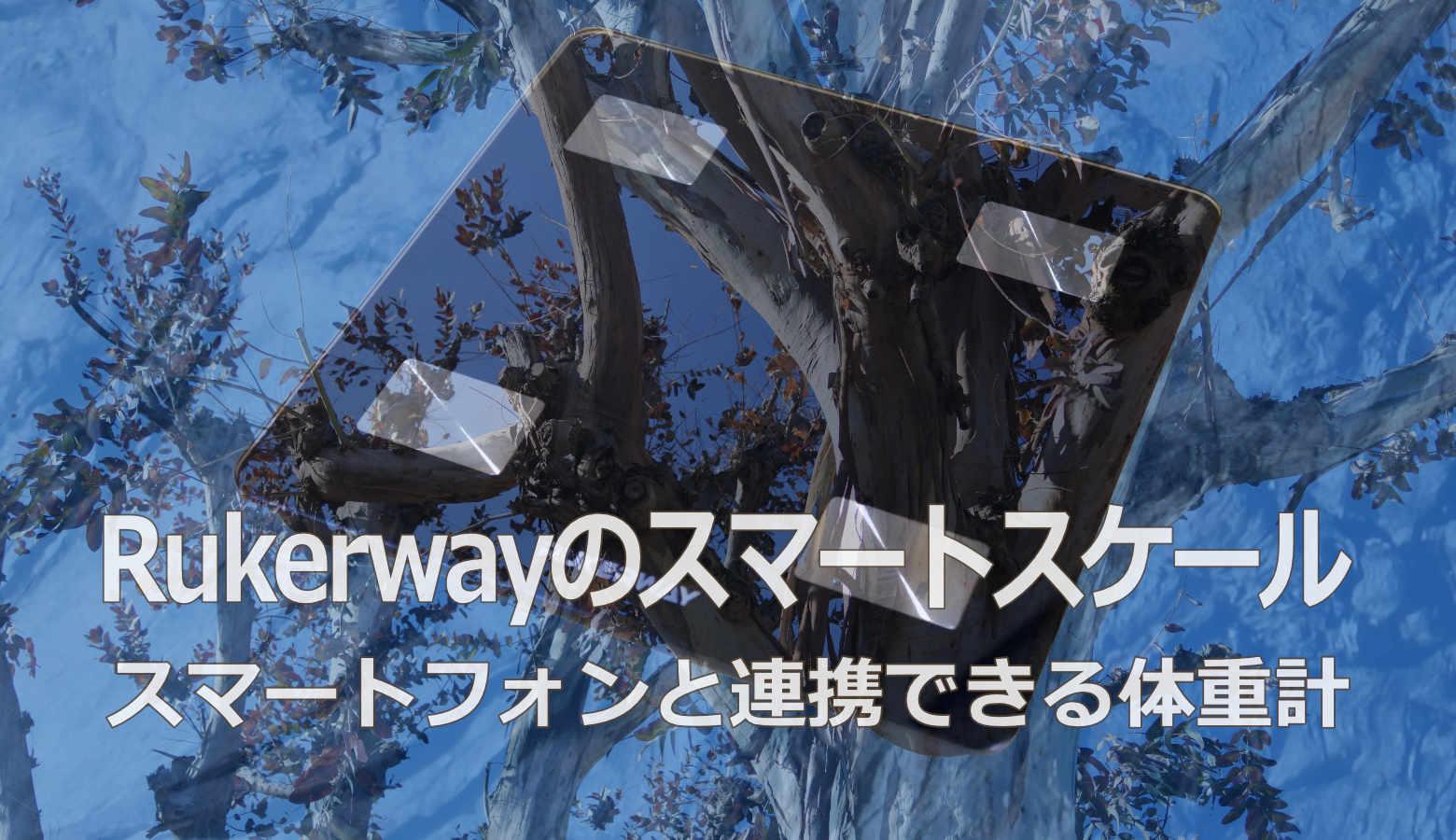 RukerwayのUSB充電式スマートスケール