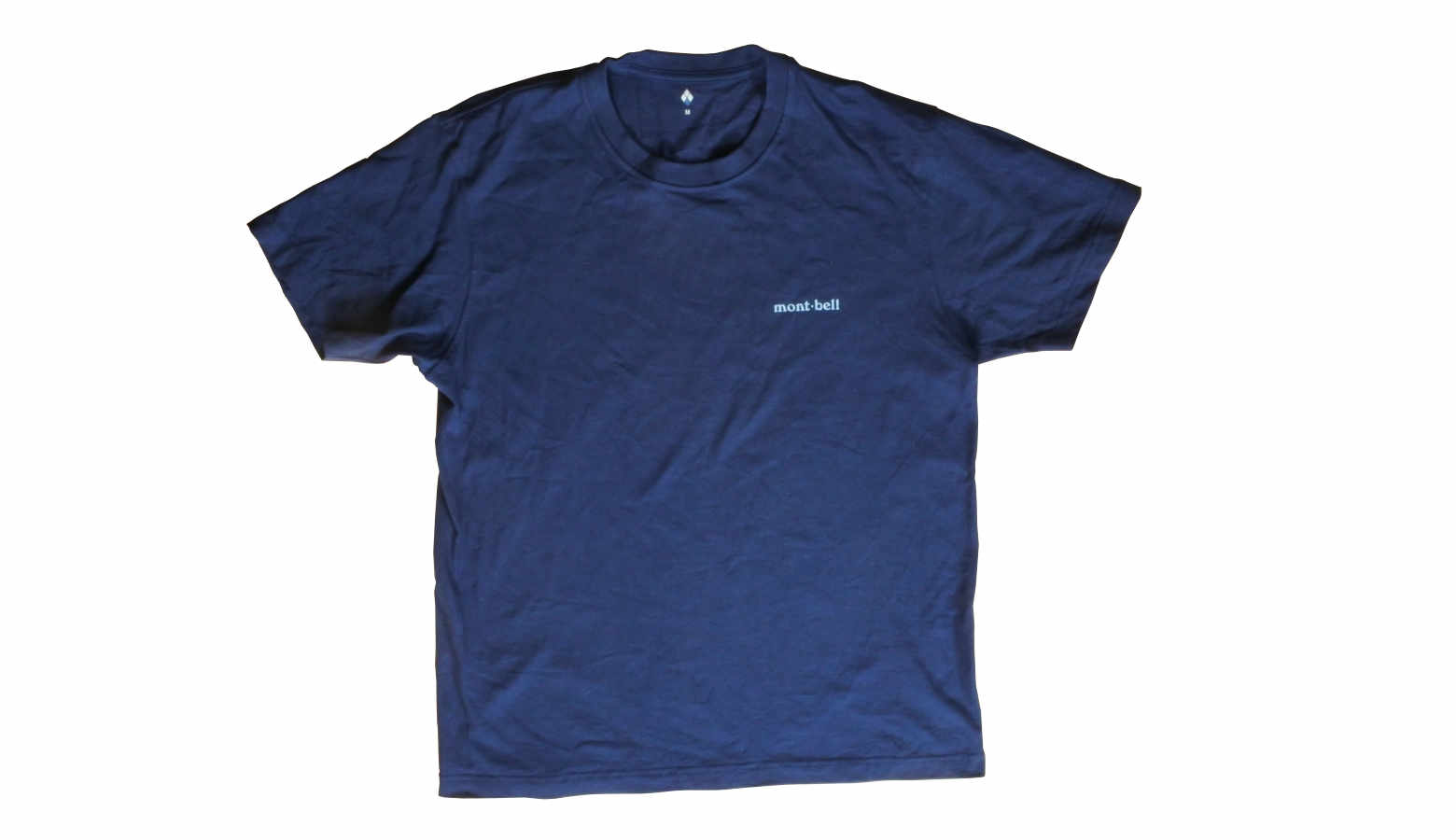 モンベルのペアスキンコットンTシャツ