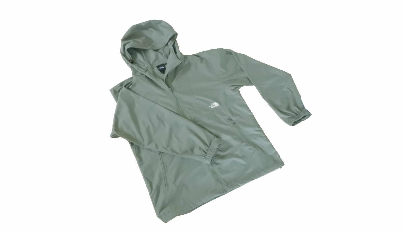 コンパクトジャケットの洗濯