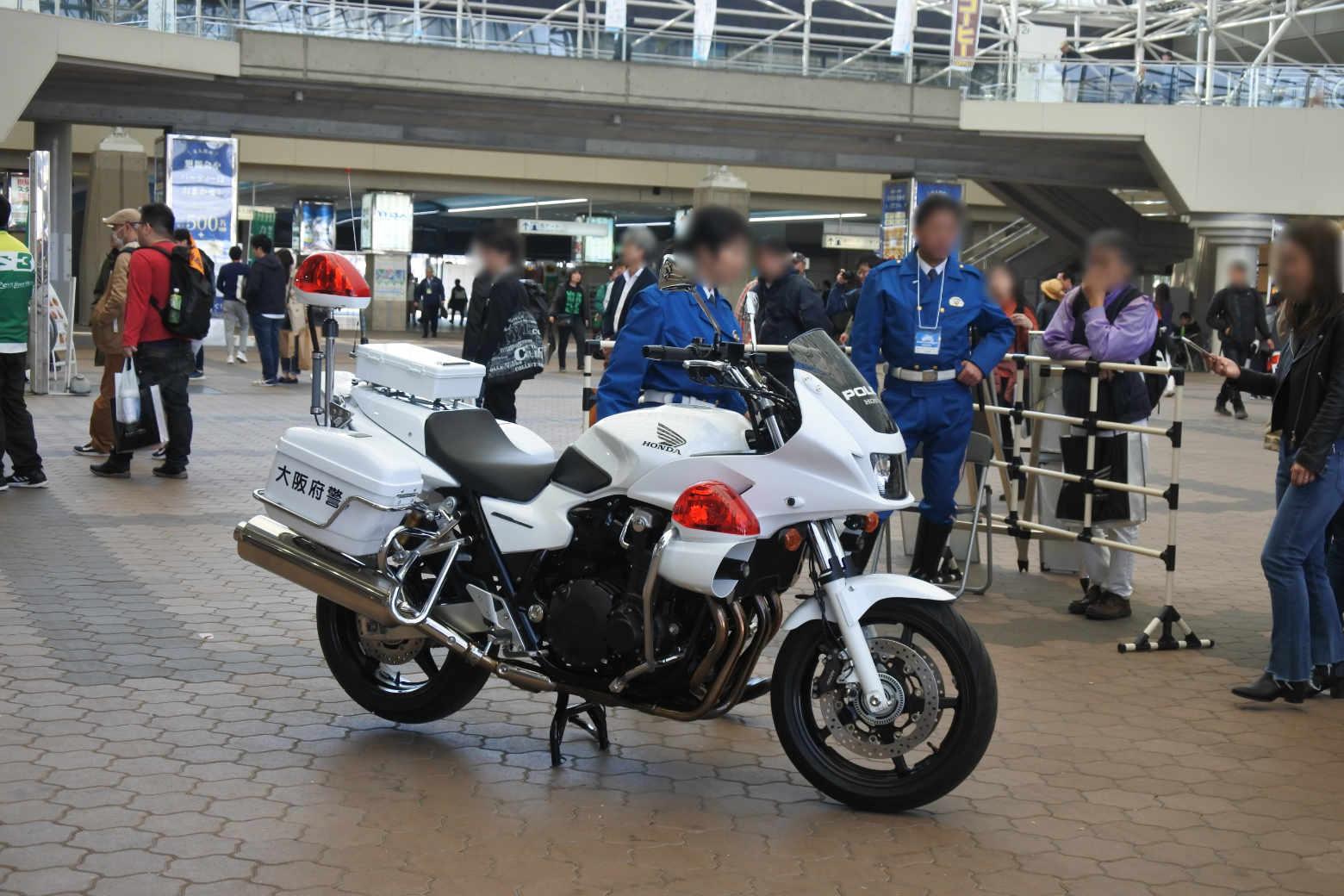 大阪モーターサイクルショー2019‗警察
