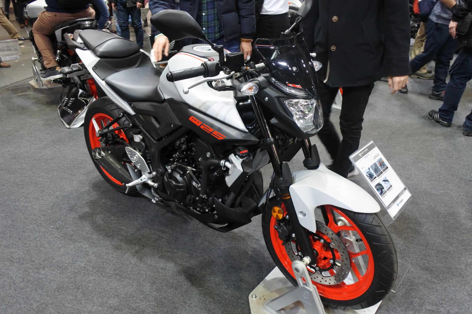 大阪モーターサイクルショー2019‗MT25