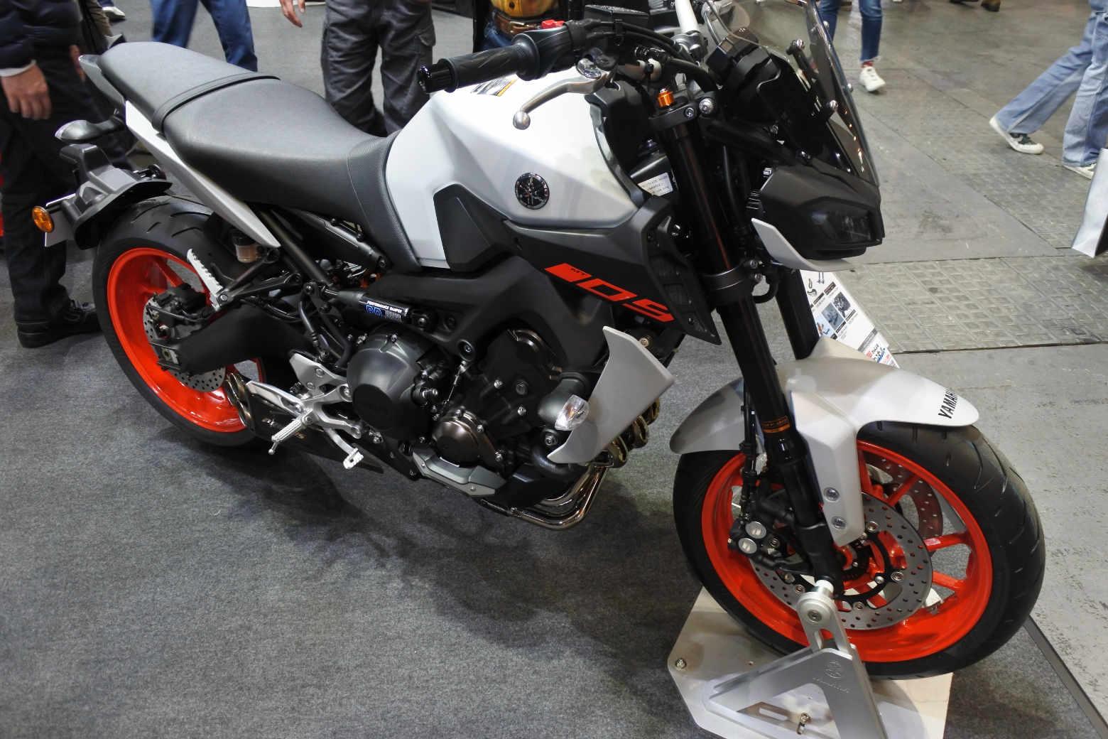 大阪モーターサイクルショー2019‗MT-09