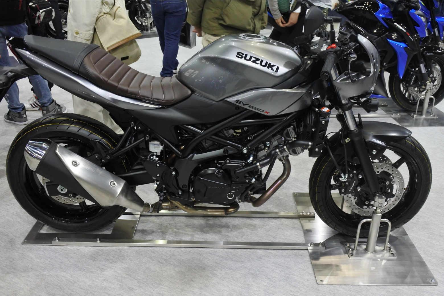 大阪モーターサイクルショー2019‗SV650XABS