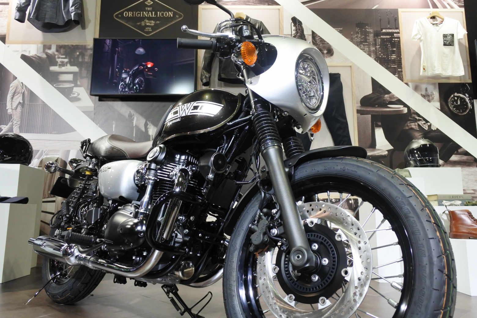 大阪モーターサイクルショー2019‗W800CAFE