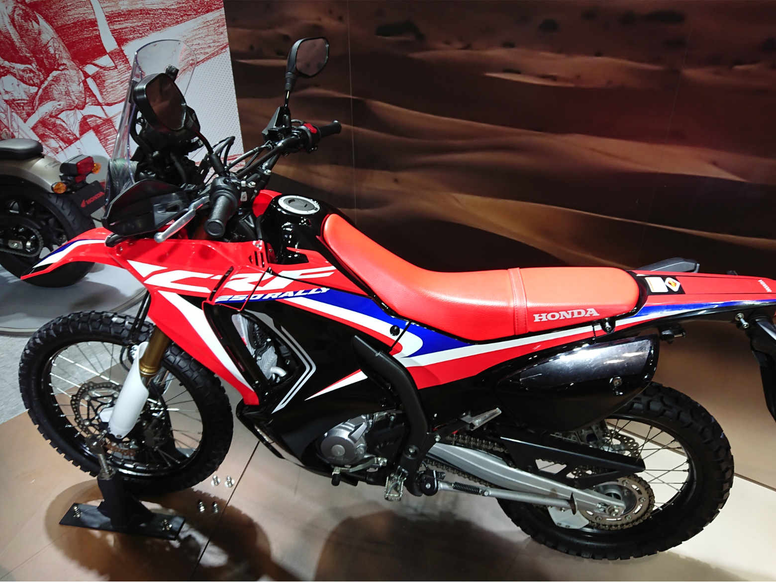 大阪モーターサイクルショー2019‗CRF250RALLY